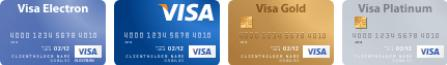 VISA International MasterCard World Wide